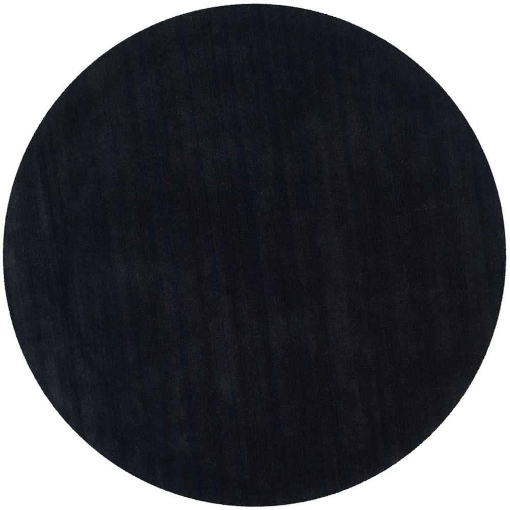 Safavieh Himalaya Black 4 Ft X Round Area Rug