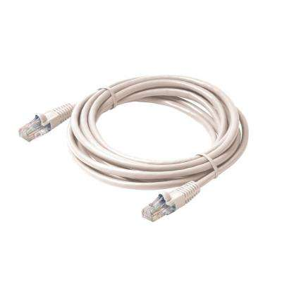 7 ft. Molded Cat5E UTP Patch Cord - White