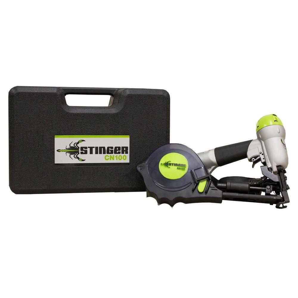 Stinger Cn100 Cap Nailer 0136250 The Home Depot