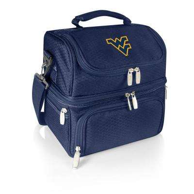 Pranzo Navy West Virginia Mountaineers Lunch Bag