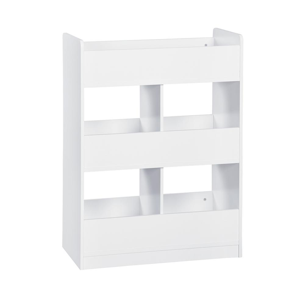 KidSpace 26 in. W x 35 in. H White 6-Cube Open