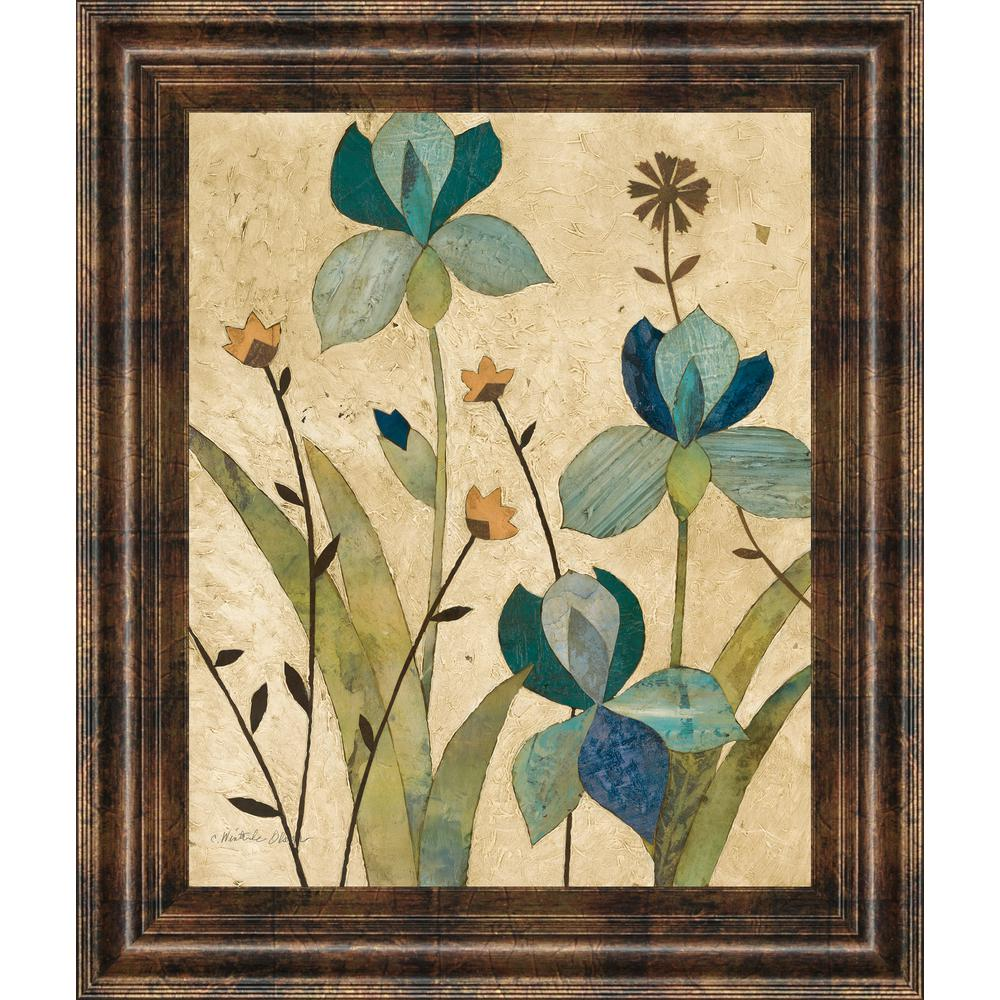 """22 in. x 26 in. """"Garden's Edge II"""" by Charlene Olson"""