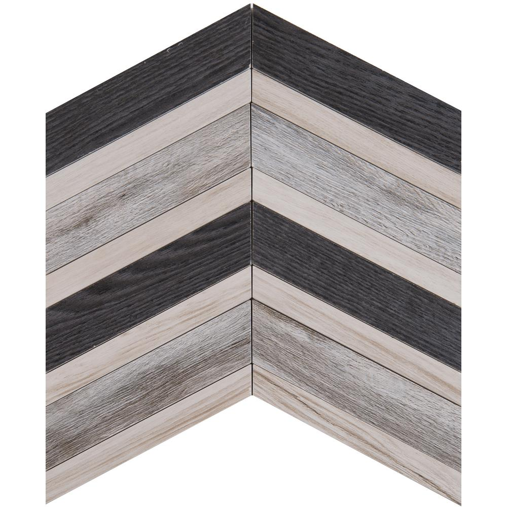 Msi urban chevron 15 in x 15 in glazed ceramic floor and wall tile