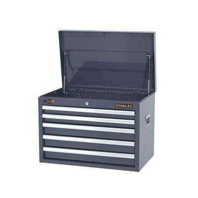 26 in. W 5-Drawer Tool Chest, Gray