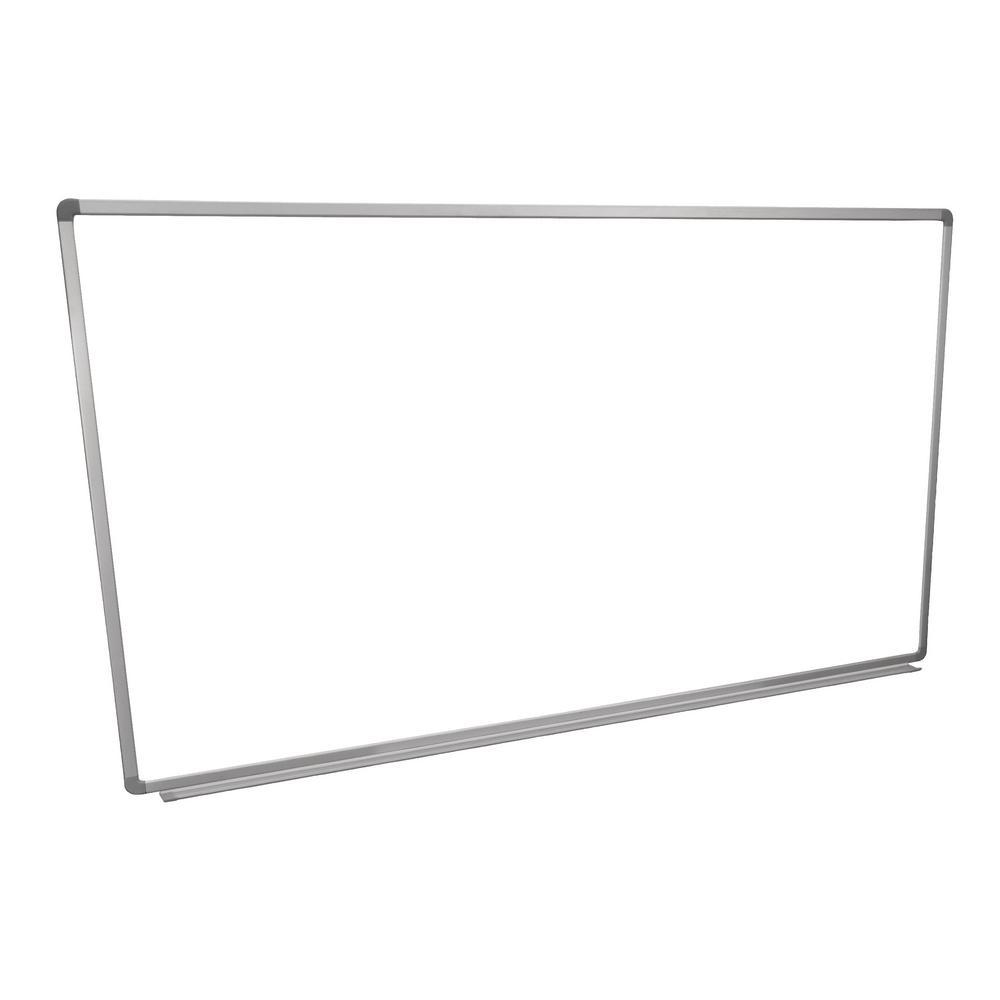 luxor whiteboard 72 in x 40 in wall mounted magnetic whiteboard