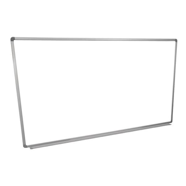 Whiteboard 72 in. x 40 in. Wall-Mounted Magnetic Whiteboard