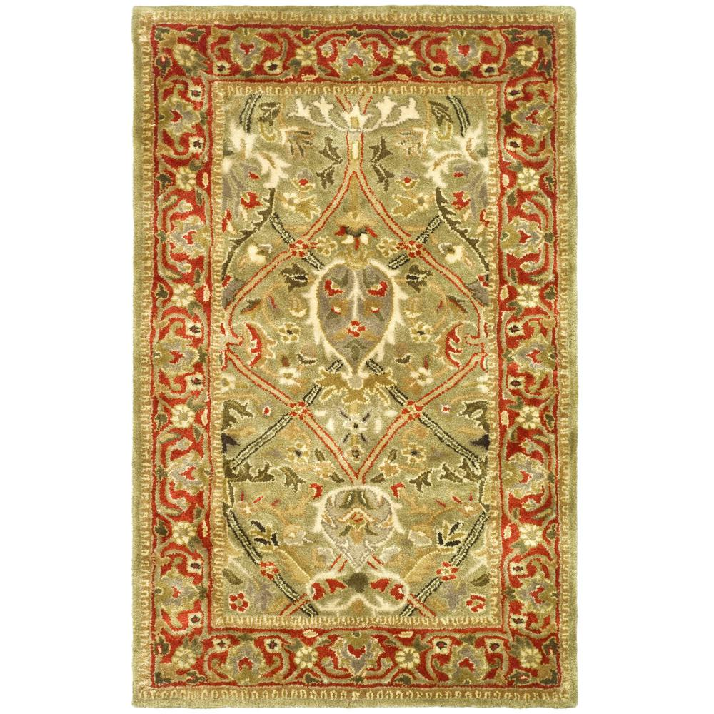 Safavieh Persian Legend Light GreenRust 2 ft