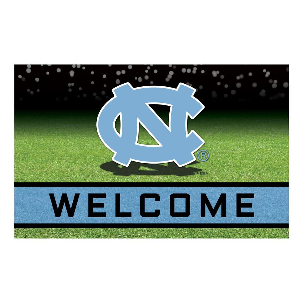 University of North Carolina - Chapel Hill 18 in. x 30 in. Rubber Door Mat