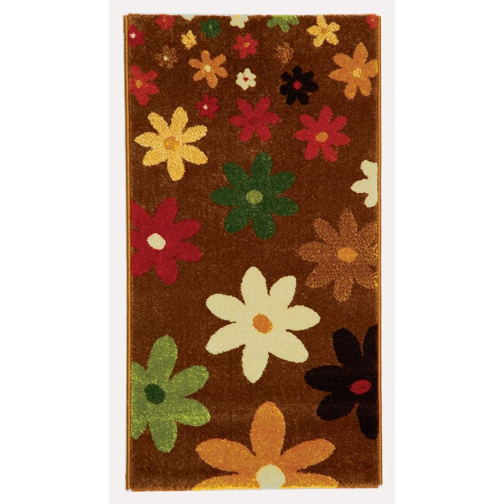Porcello Brown/Multi 2 ft. x 3 ft. 7 in. Area Rug