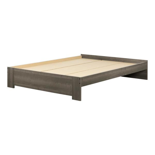 Gravity Gray Maple Queen Bed