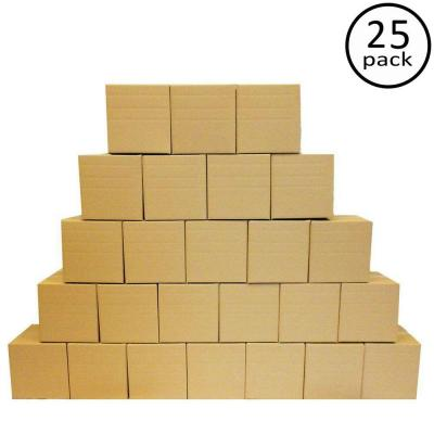 Multi-Depth Box 25-Pack (12 in. L x 12 in. W x 12 in. D)