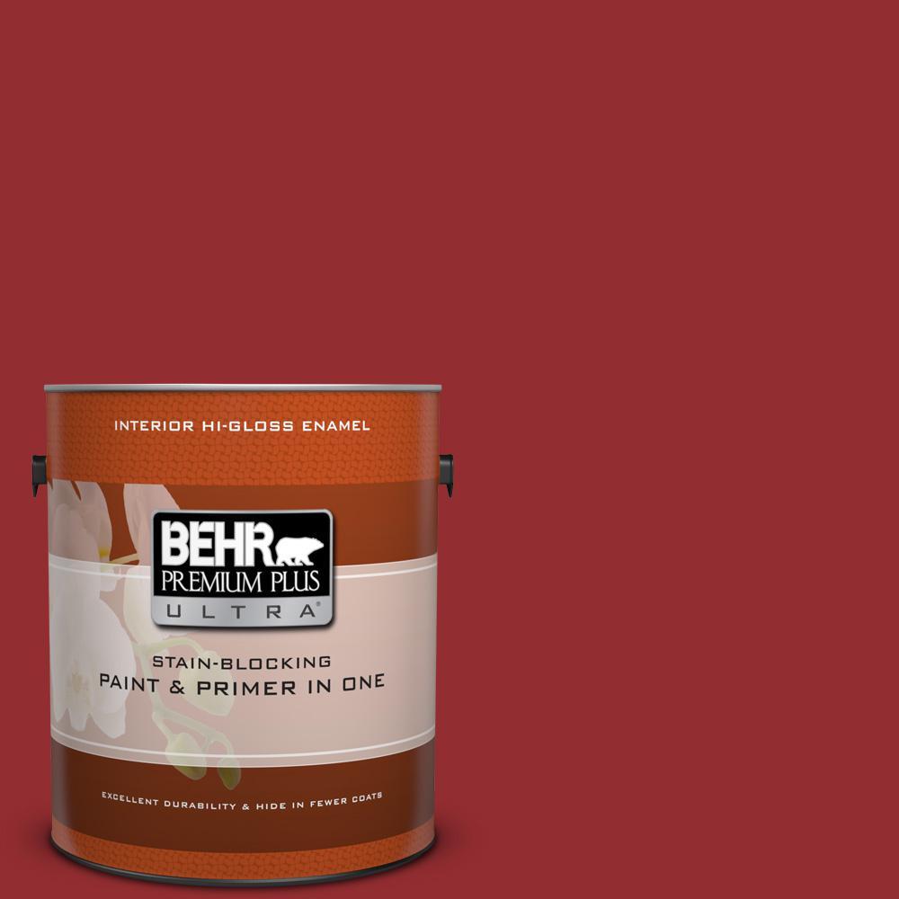 1 gal. #HDC-WR15-12 New Sled Hi-Gloss Enamel Interior Paint