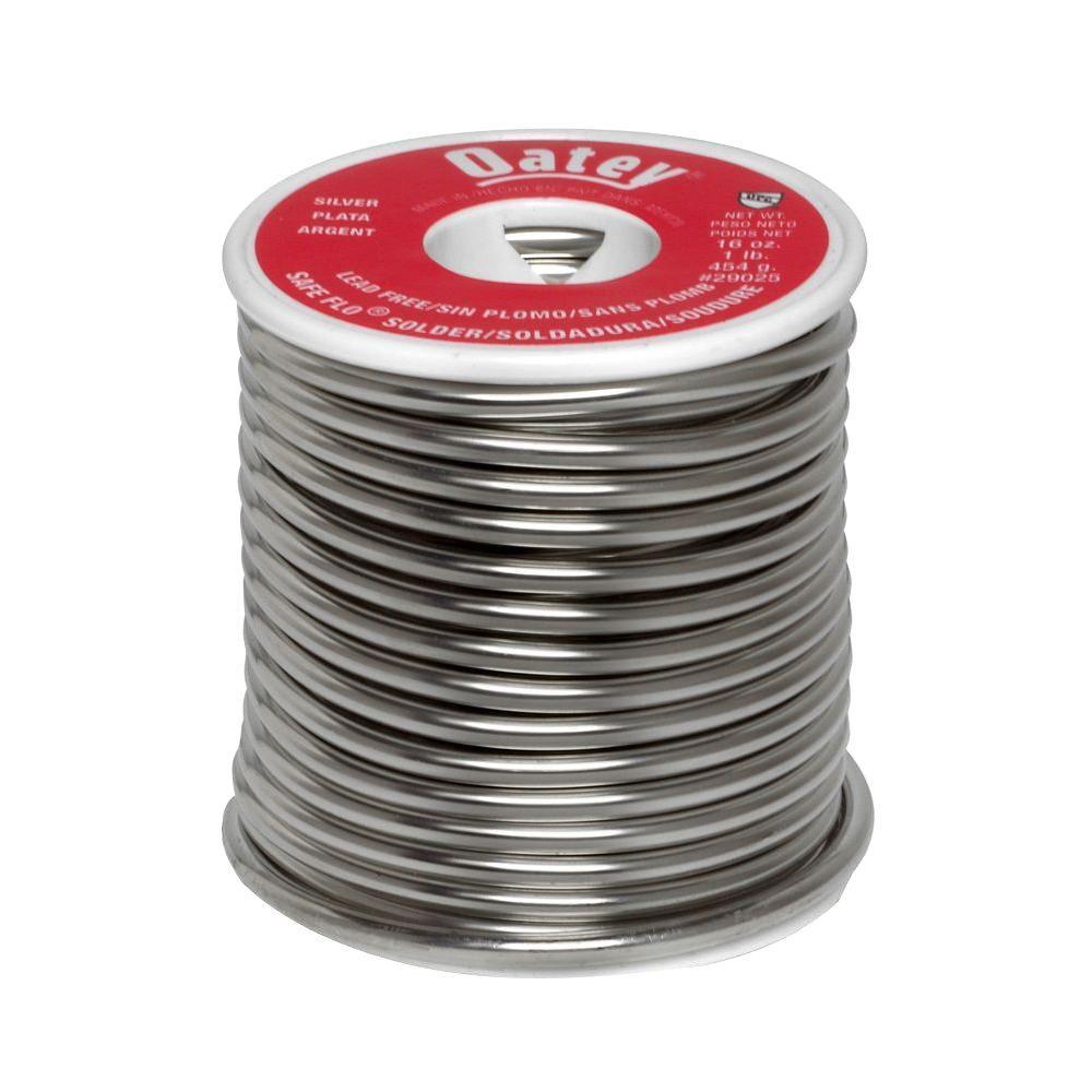 1 lb. Safe-Flo Silver Wire Solder