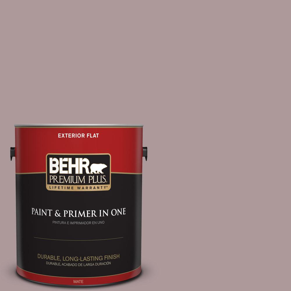 BEHR Premium Plus 1-gal. #PMD-53 Antique Mauve Flat Exterior Paint