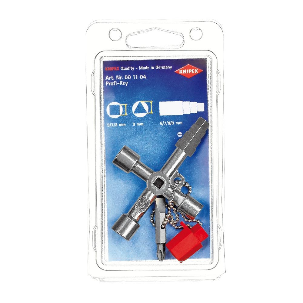 KNIPEX 00 11 04 Universal Control Cabinet Key