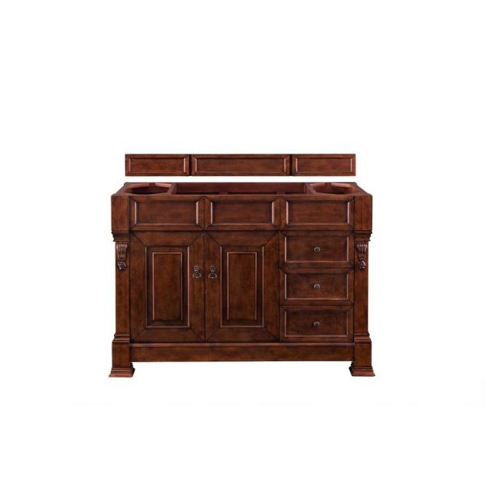 Brookfield 48 in. W Bathroom Single Vanity Cabinet Only in Warm Cherry