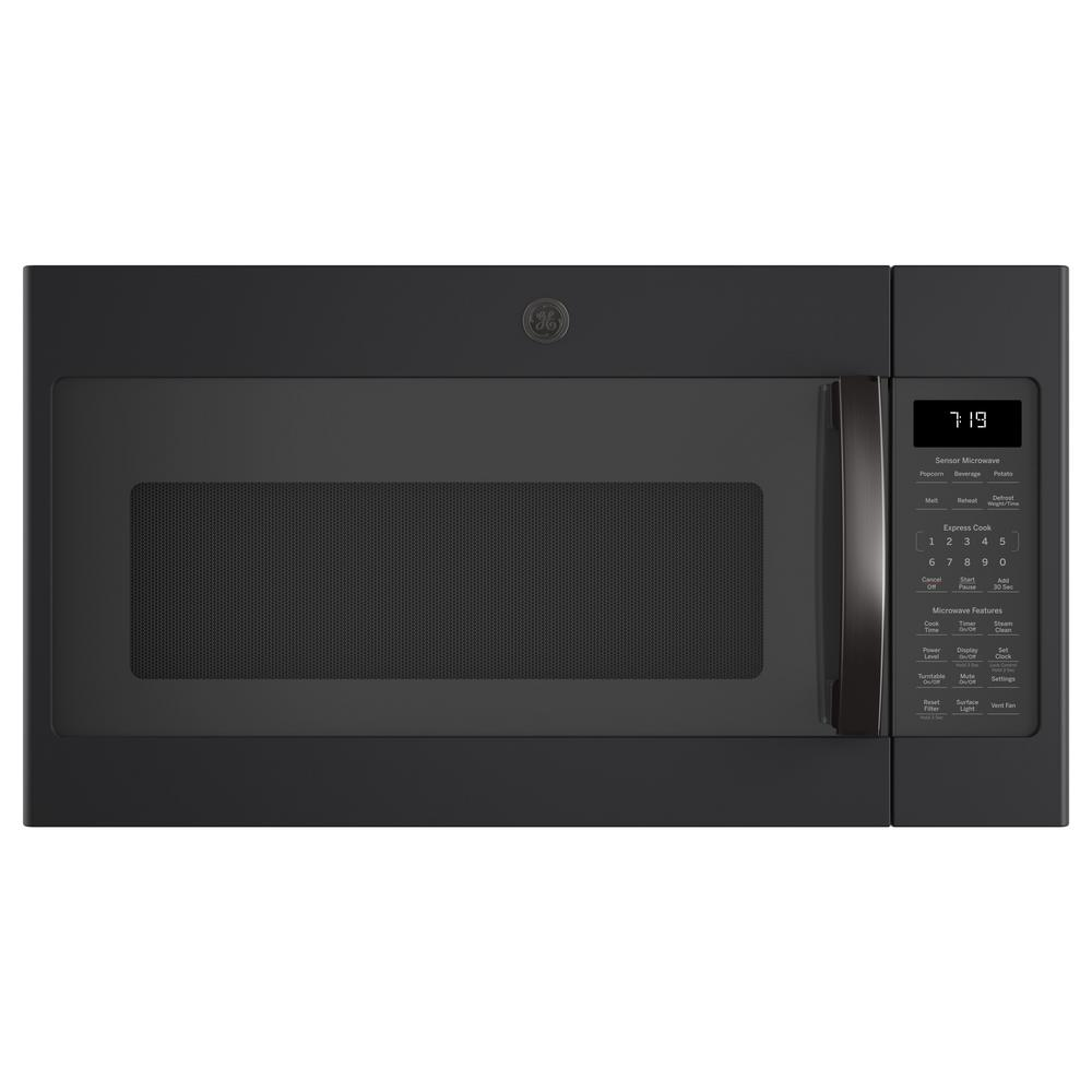 GE 1.9 cu. ft. Over the Ran Microwave in Black Slate with Sensor Cooking, Finrprint Resistant, Fingerprint Resistant Black Slate was $519.0 now $318.0 (39.0% off)
