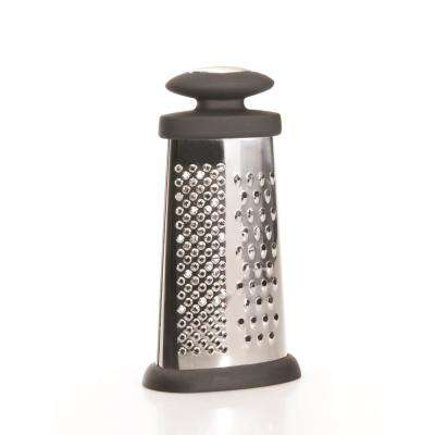Essentials 6 in. Stainless Steel Oval Grater