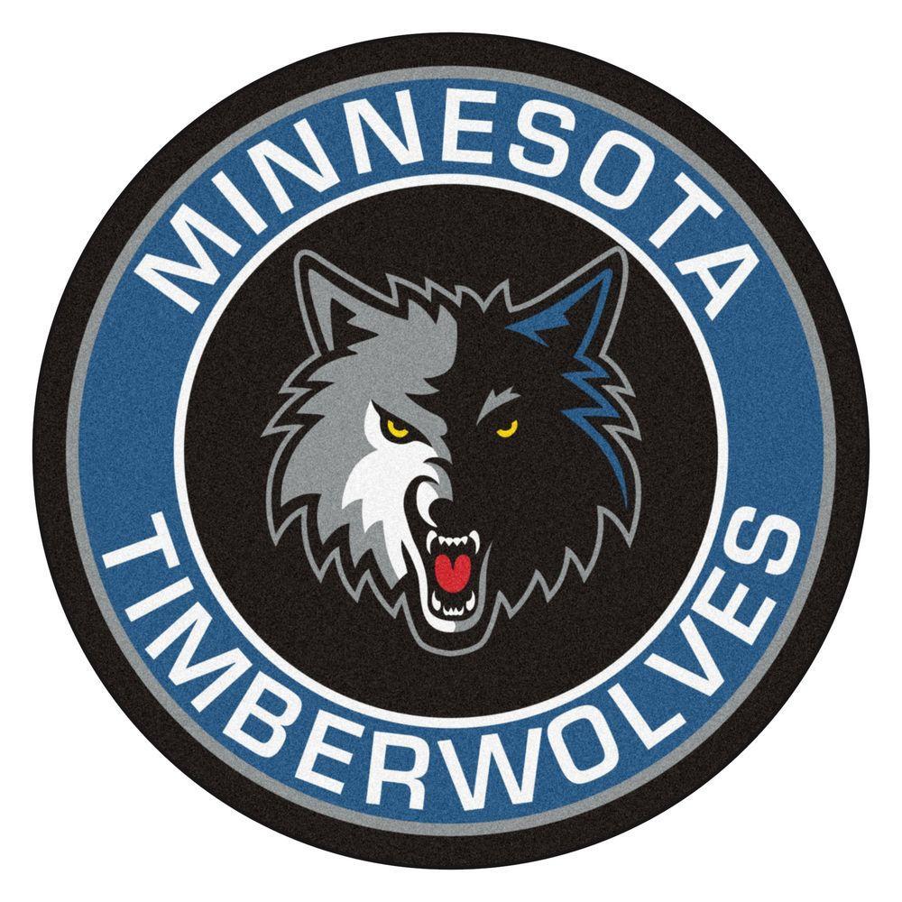 Minnesota Timberwolves: FANMATS NBA Minnesota Timberwolves Blue 2 Ft. 3 In. X 2 Ft