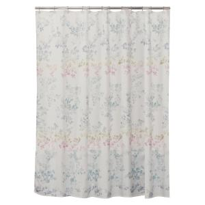 yellow and teal shower curtain. Saturday Knight Ombre Leaves 72 in  Floral Shower Curtain S1519500200001 The Home Depot