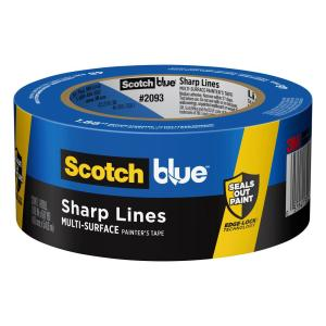 ScotchBlue 1.88 in. x 60 yds. Trim and Baseboards Painter's Tape with Edge-Lock