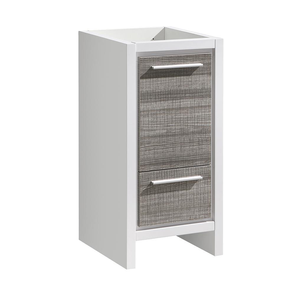 Allier Rio 16 in. Modern Bathroom Vanity Cabinet in Ash Gray