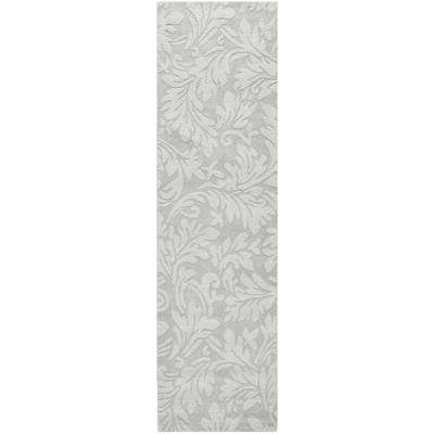 Impressions Gray 2 ft. 3 in. x 6 ft. Runner Rug
