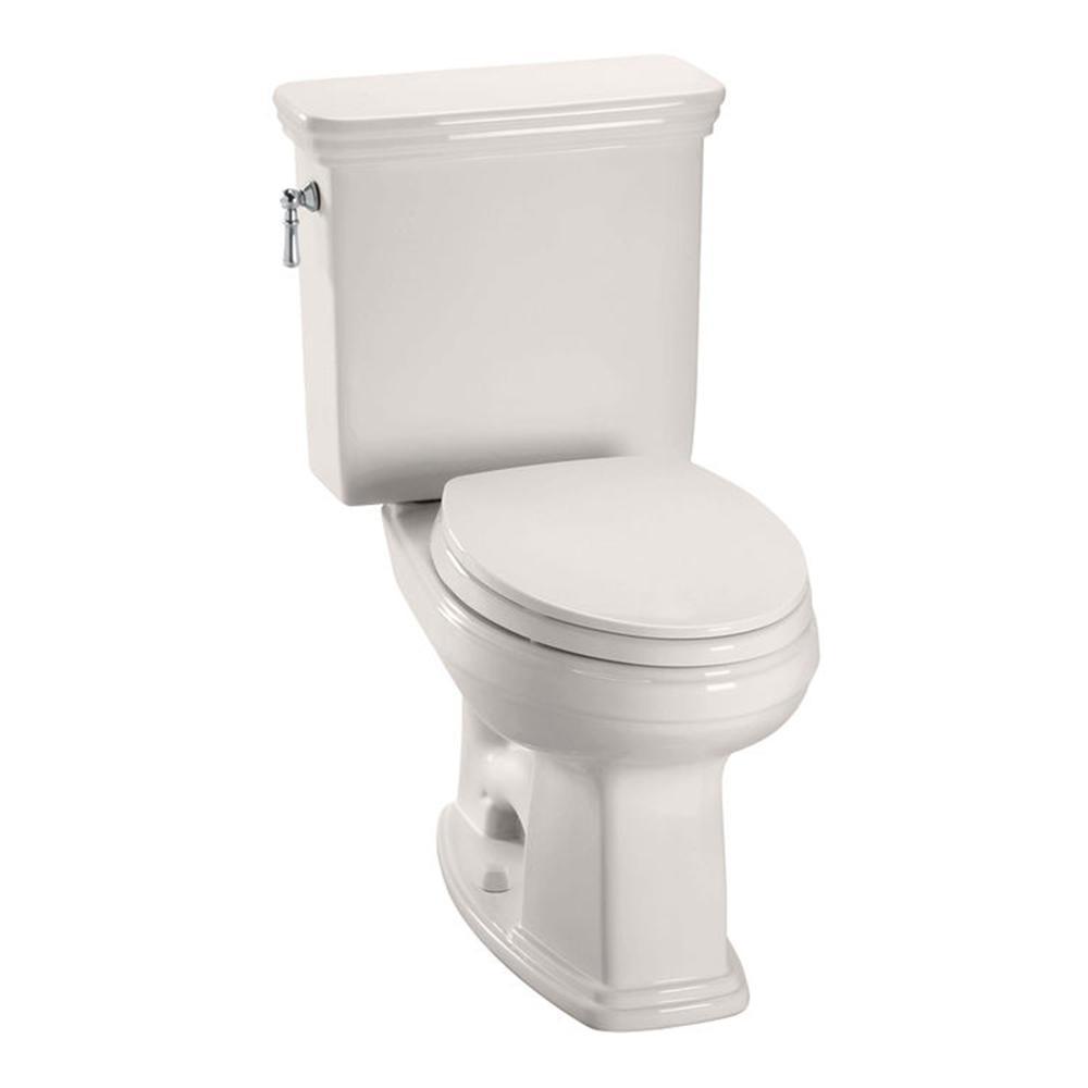 TOTO Promenade 2-Piece 1.28 GPF Single Flush Elongated Toilet in ...