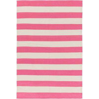 City Park Lauren Hot Pink 3 Ft X 5 Indoor Area Rug