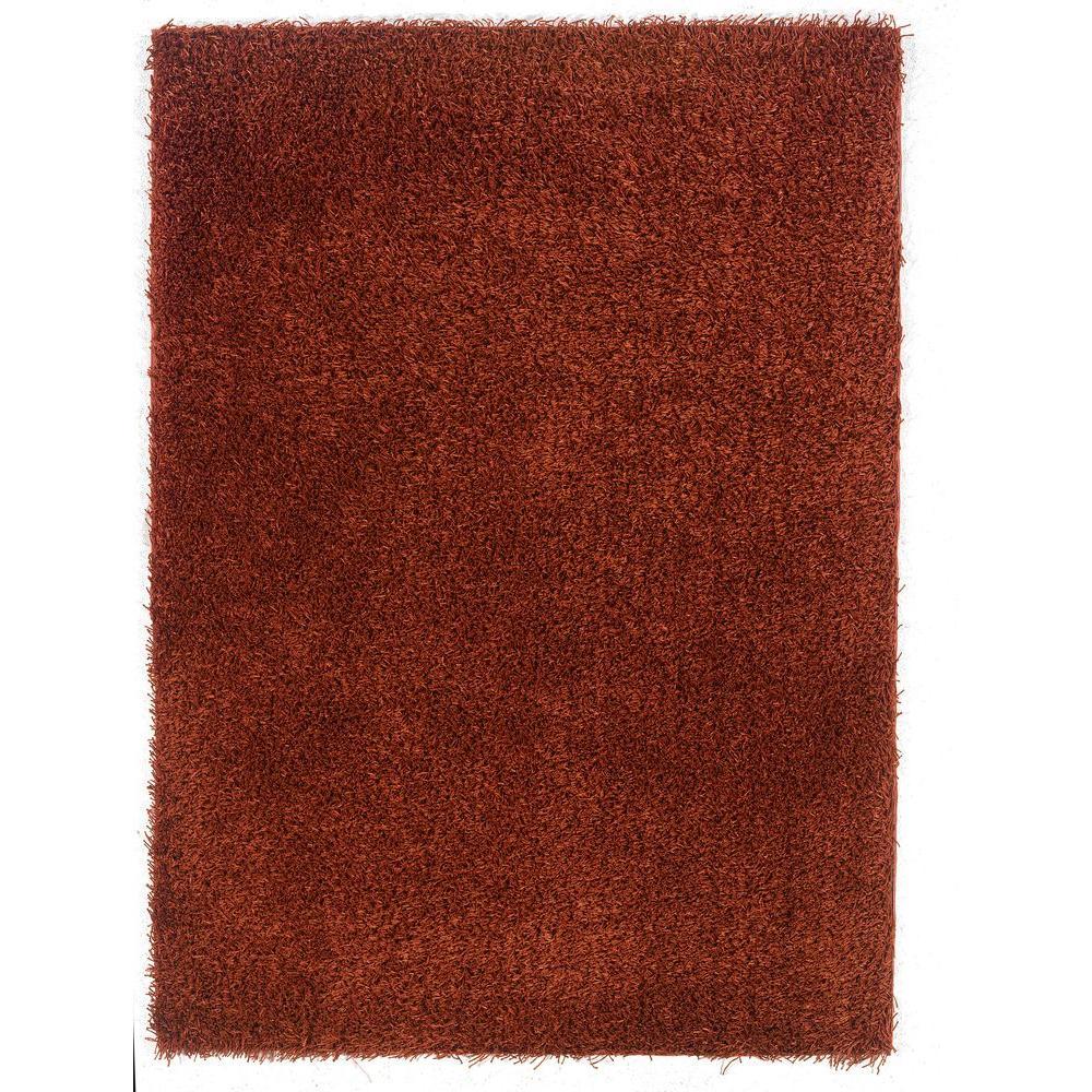 Superior Confetti Rusty Copper/Orange 8 Ft. X 10 Ft. Area Rug