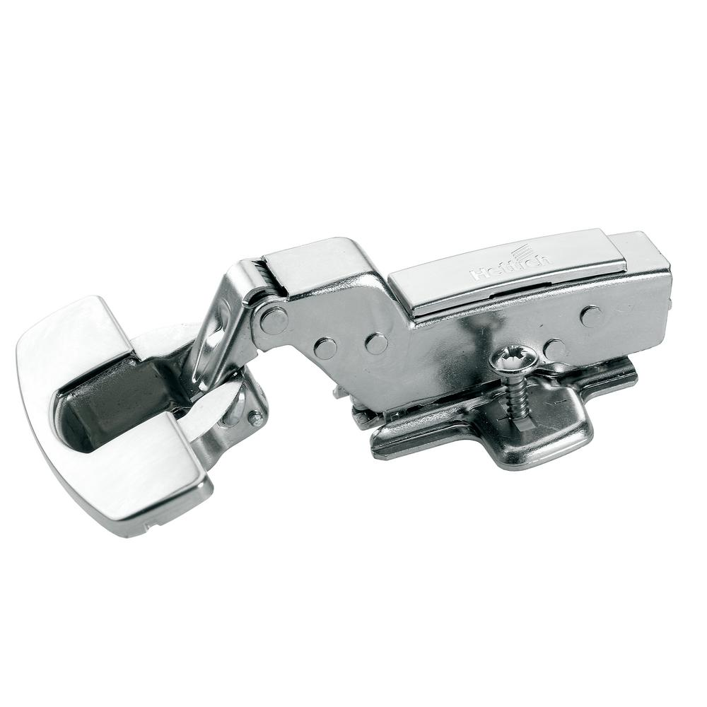 SEVGTY Concealed Hinges 10-Packs,Inset 110 Degree European Frameless Hydraulic S