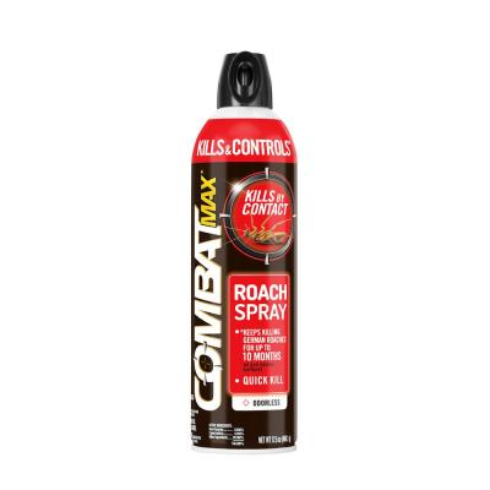 Max 17.5 oz. Kills and Controls Roach Spray