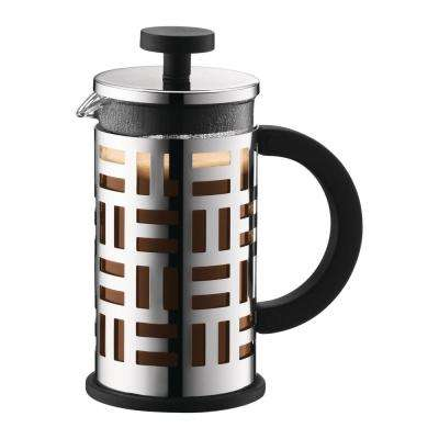 Eileen 3-Cup Chrome French Press Coffee Maker