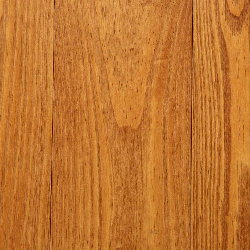 BLC Hardwood Flooring Antiqued Wire Brushed Honey Pine 3/4 in. Tx 5-1/8 in. Wide x Random Length Solid Hardwood Flooring (23.3 sq. ft. / case)