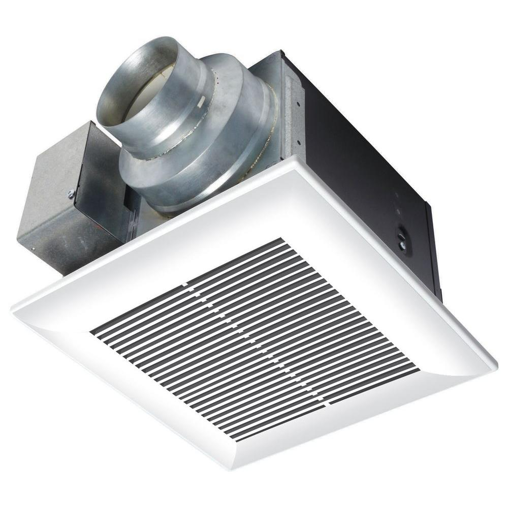 Panasonic WhisperCeiling CFM Ceiling Exhaust Bath Fan ENERGY - Electrician install bathroom exhaust fan