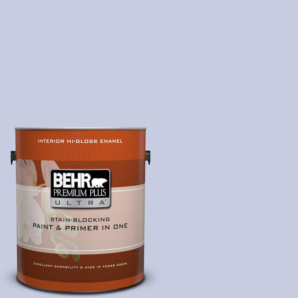 1 gal. #620C-2 Lilac Bisque Hi-Gloss Enamel Interior Paint