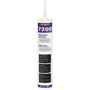 7200 30 fl. oz. Wall and Cove Base Adhesive in Cartridge Tube