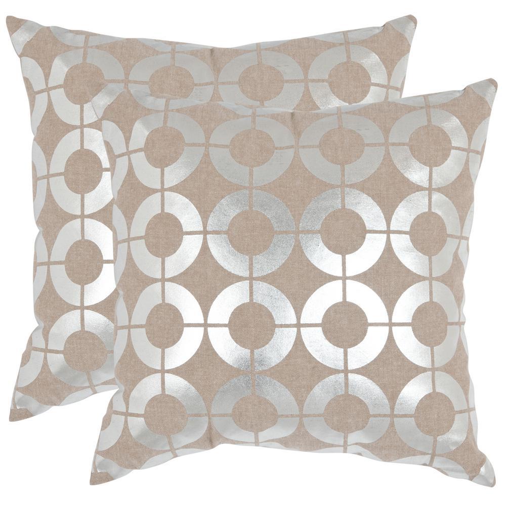Bailey Metallics Pillow (2-Pack)