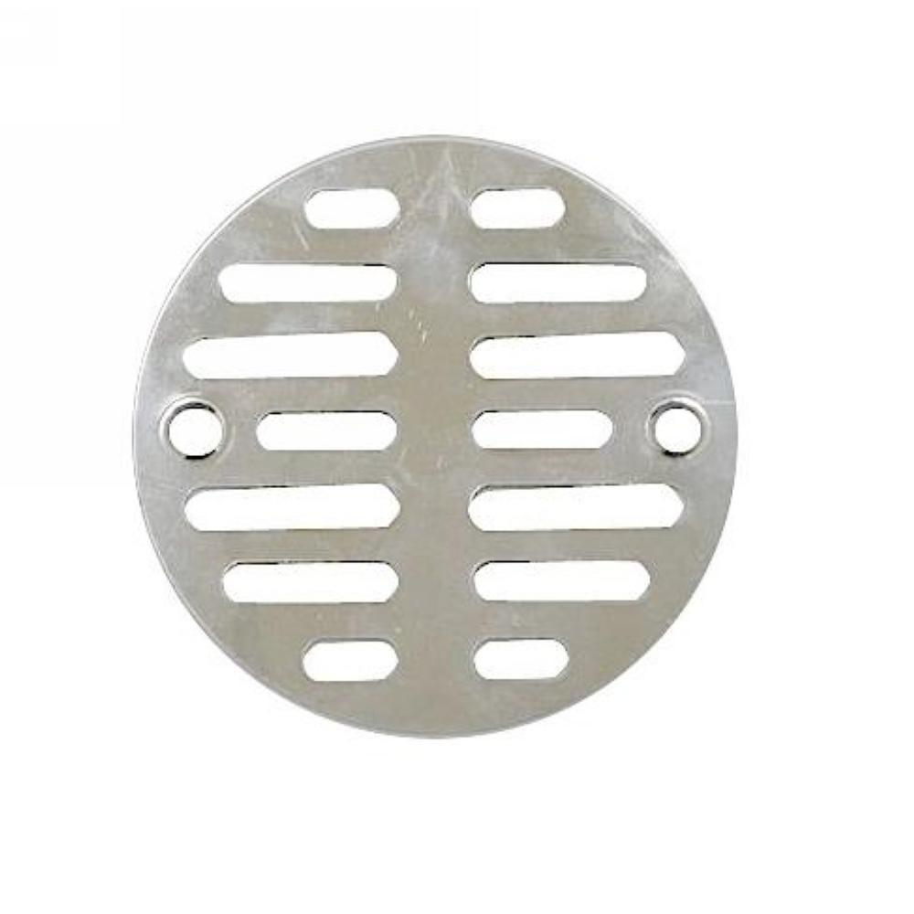 3-1/2 in. Chrome Plated Floor Drain Grill