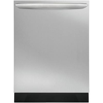 24 in. Smudge Proof Stainless Steel Top Control Built-In Dishwasher with OrbitClean Spray Arm, ENERGY STAR, 52 dBA