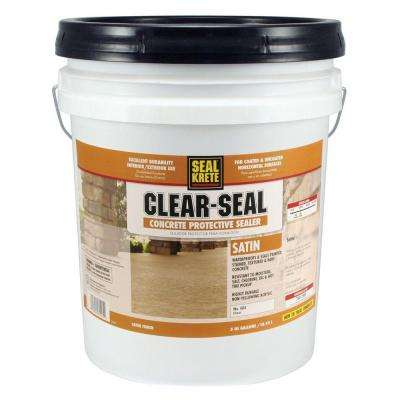 5 Gal. Satin Clear Seal Concrete Protective Sealer