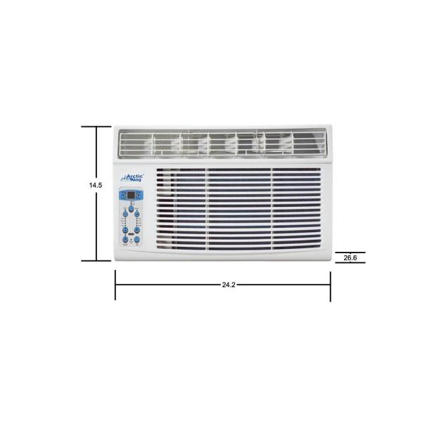 Star Air Kontrol 8 000 Btu 115 Volt Through The Wall Air Conditioner With Heat And Remote Ak 08hs115v The Home Depot