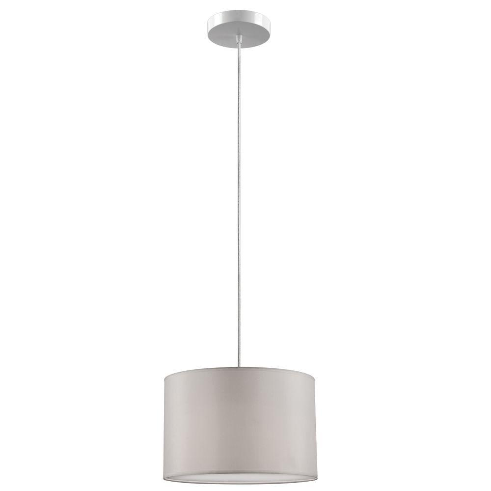 Globe Electric Saint Denis 1 Light White Plug In Or