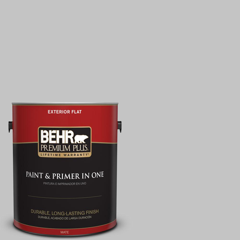 #N520 2 Silver Bullet Flat Exterior Paint