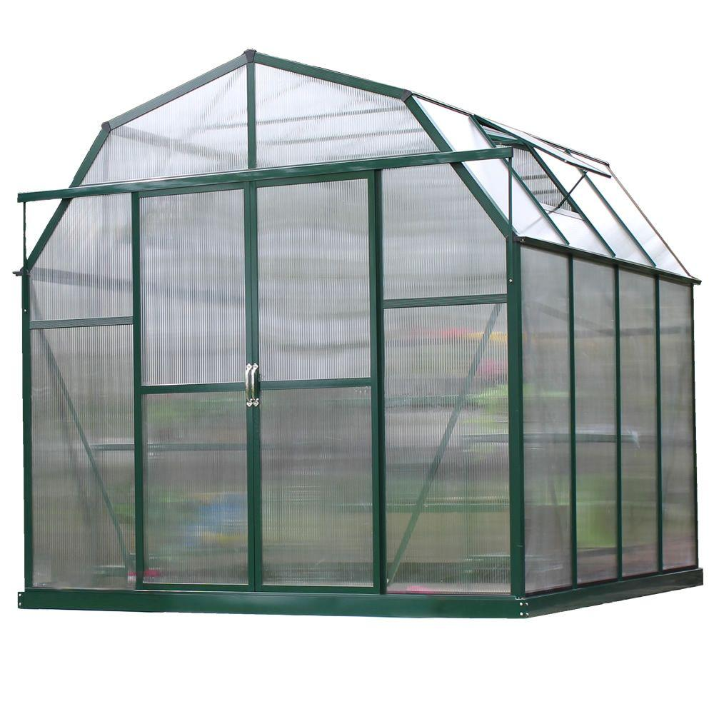 Grandio Greenhouses Elite 8 ft  W x 8 ft  D x 8 ft  H Heavy