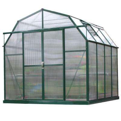 Elite 8 ft. W x 8 ft. D x 8 ft. H Heavy-Duty Aluminum Greenhouse Kit