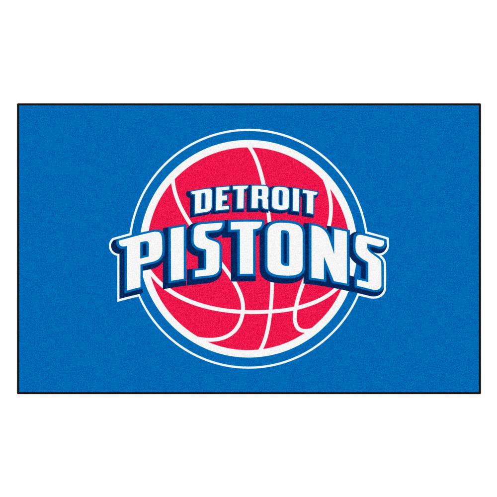 Detroit Pistons 5 ft. x 8 ft. Ulti-Mat
