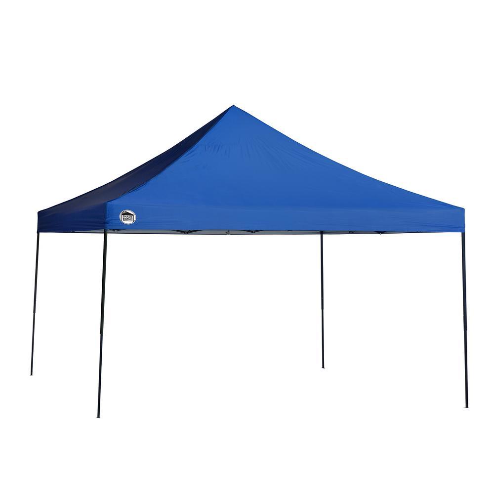 ST144 12 ft. x 12 ft. Blue Straight Leg Canopy