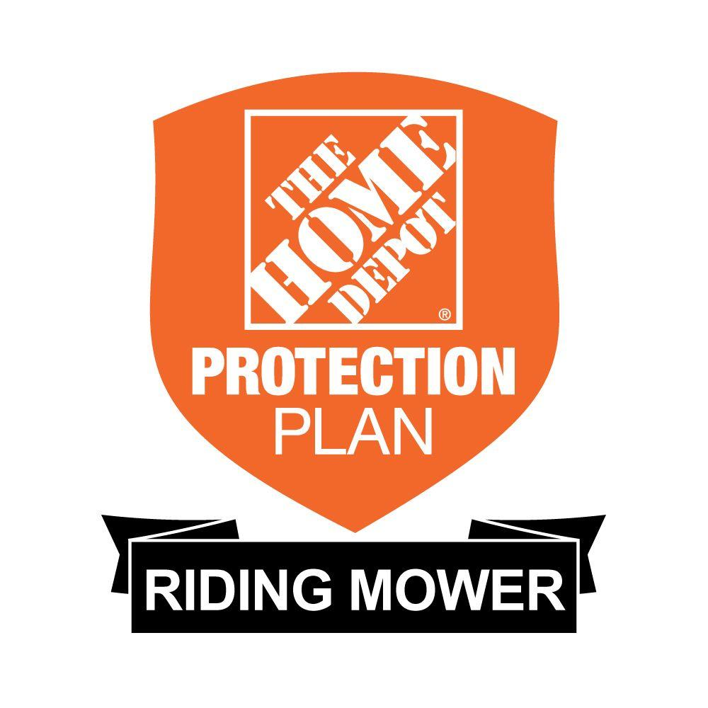 The Home Depot 3-Year Protection Plan for Riding Mowers ($800-$999.99)