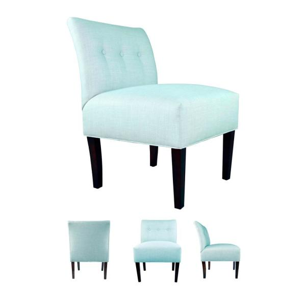 MJL Furniture Designs Button Multi-Color Tufted Accent Chair